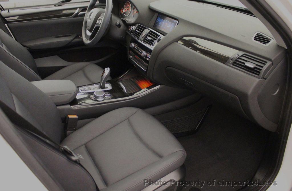 2017 BMW X3 CERTIFIED X3 xDRIVE28i AWD CAMERA PANO NAVI - 18104444 - 40