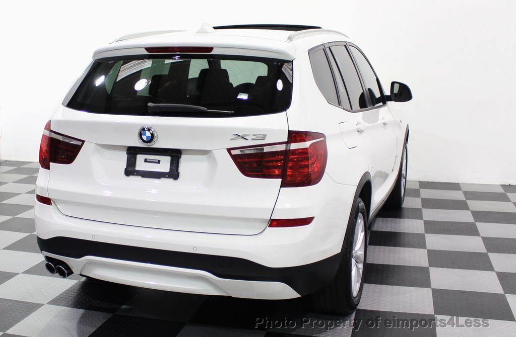 2017 BMW X3 CERTIFIED X3 xDRIVE28i AWD CAMERA PANO NAVI - 18104444 - 48