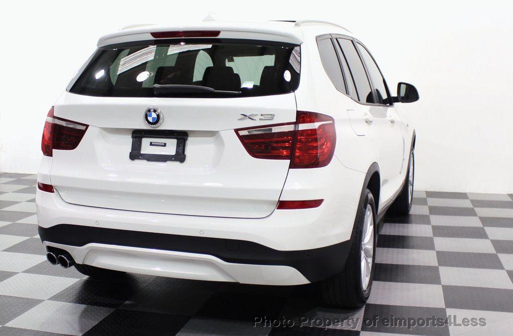 2017 BMW X3 CERTIFIED X3 xDRIVE28i AWD CAMERA PANO NAVI - 18104444 - 56