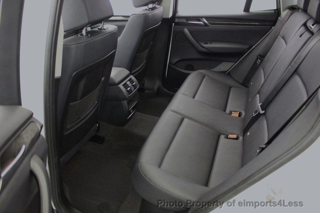 2017 BMW X3 CERTIFIED X3 xDRIVE28i AWD CAMERA PANO NAVI - 18104444 - 7