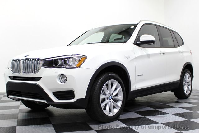 2017 BMW X3 CERTIFIED X3 xDRIVE28i AWD XENON DRIVER ASSIST NAV - 16518958 - 0