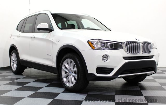 2017 BMW X3 CERTIFIED X3 xDRIVE28i AWD XENON DRIVER ASSIST NAV - 16518958 - 1