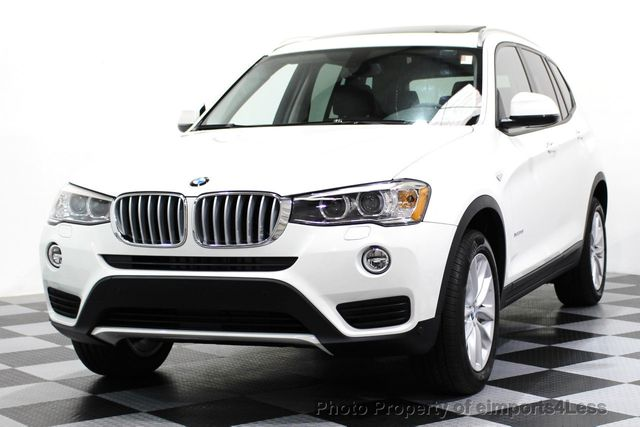 2017 BMW X3 CERTIFIED X3 xDRIVE28i AWD XENON DRIVER ASSIST NAV - 16518958 - 24