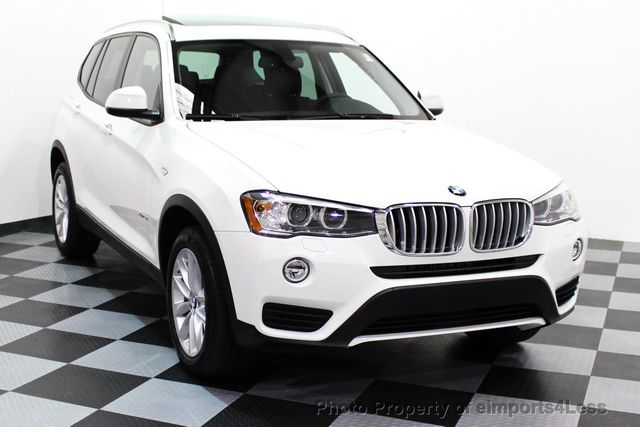 2017 BMW X3 CERTIFIED X3 xDRIVE28i AWD XENON DRIVER ASSIST NAV - 16518958 - 25