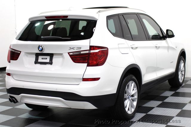 2017 BMW X3 CERTIFIED X3 xDRIVE28i AWD XENON DRIVER ASSIST NAV - 16518958 - 3