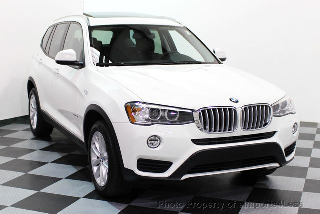 2017 BMW X3 CERTIFIED X3 xDRIVE28i AWD XENON DRIVER ASSIST NAV - 16518958 - 56