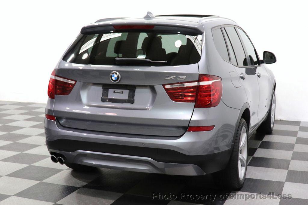 2017 BMW X3 CERTIFIED X3 xDrive28i Premium AWD NAV CAM PANO - 18587066 - 31