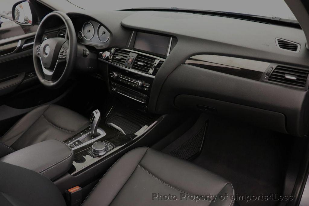 2017 BMW X3 CERTIFIED X3 xDrive28i Premium AWD NAV CAM PANO - 18587066 - 34
