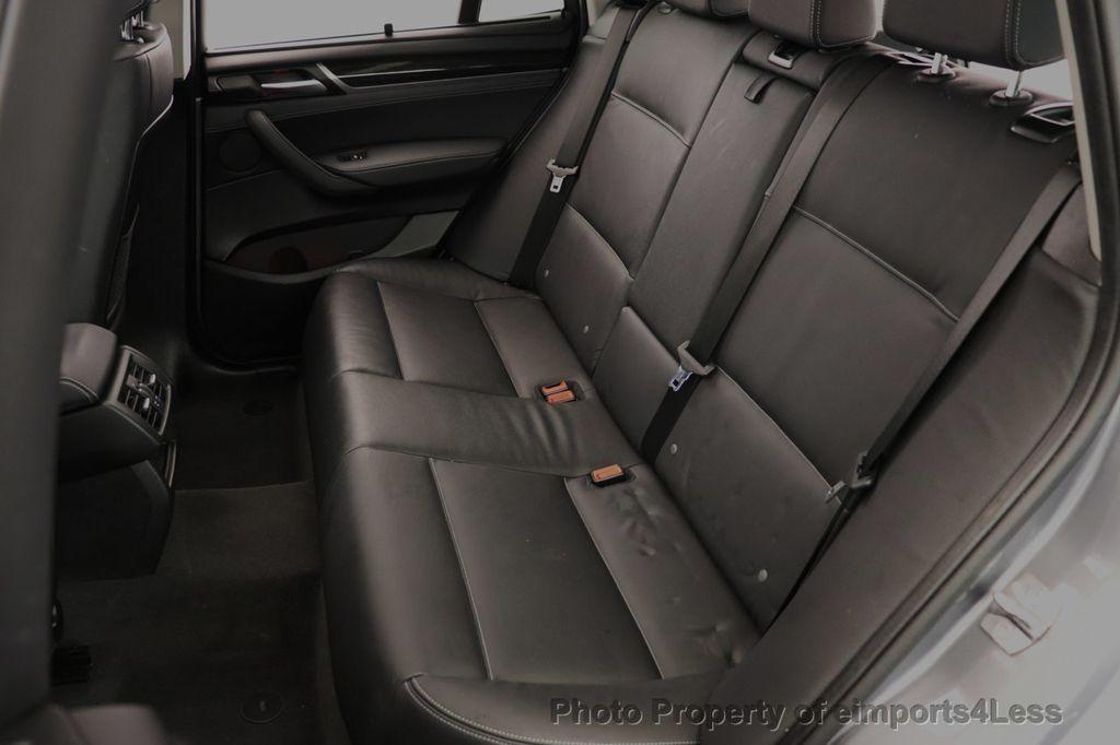 2017 BMW X3 CERTIFIED X3 xDrive28i Premium AWD NAV CAM PANO - 18587066 - 35