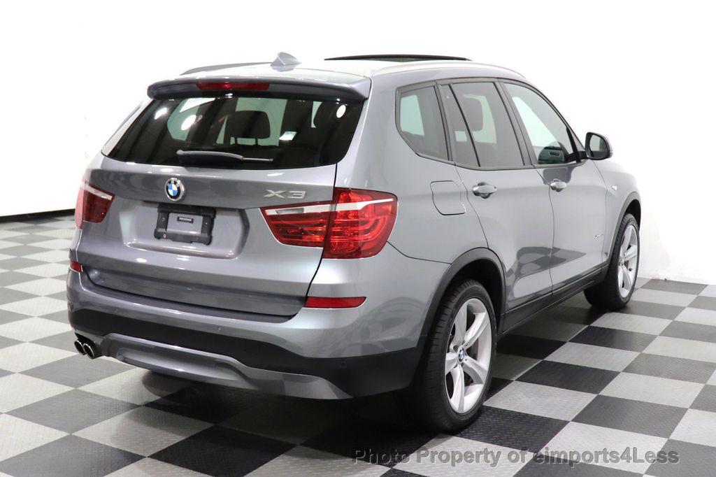 2017 BMW X3 CERTIFIED X3 xDrive28i Premium AWD NAV CAM PANO - 18587066 - 3