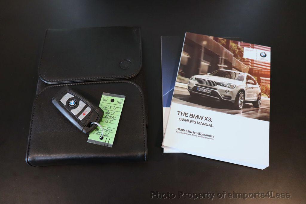 2017 BMW X3 CERTIFIED X3 xDrive28i Premium AWD NAV CAM PANO - 18587066 - 39