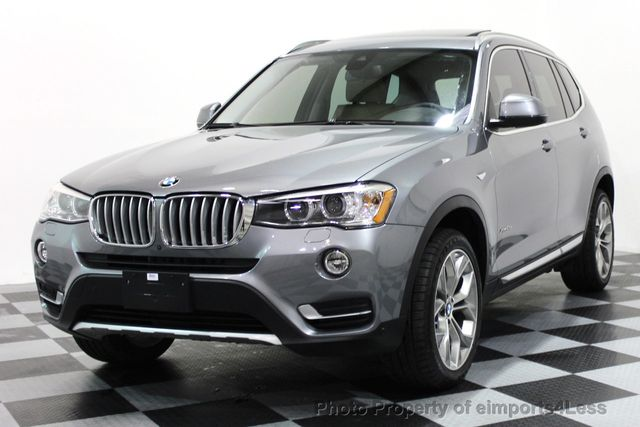 2017 BMW X3 CERTIFIED X3 xDRIVE28i XLINE AWD DRIVER ASSIST NAVI - 16176303 - 0