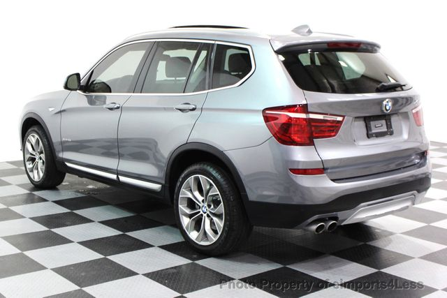 2017 BMW X3 CERTIFIED X3 xDRIVE28i XLINE AWD DRIVER ASSIST NAVI - 16176303 - 17