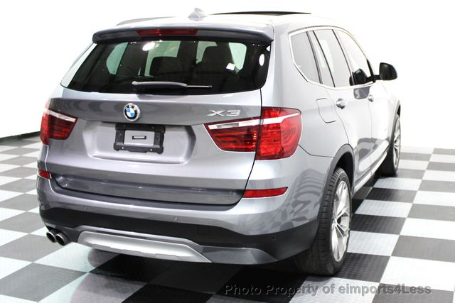 2017 BMW X3 CERTIFIED X3 xDRIVE28i XLINE AWD DRIVER ASSIST NAVI - 16176303 - 19