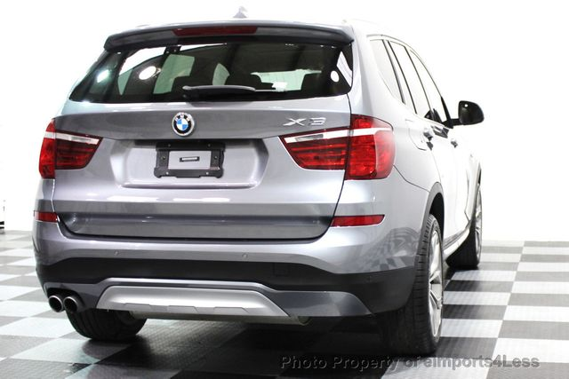 2017 BMW X3 CERTIFIED X3 xDRIVE28i XLINE AWD DRIVER ASSIST NAVI - 16176303 - 21