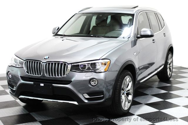 2017 BMW X3 CERTIFIED X3 xDRIVE28i XLINE AWD DRIVER ASSIST NAVI - 16176303 - 25