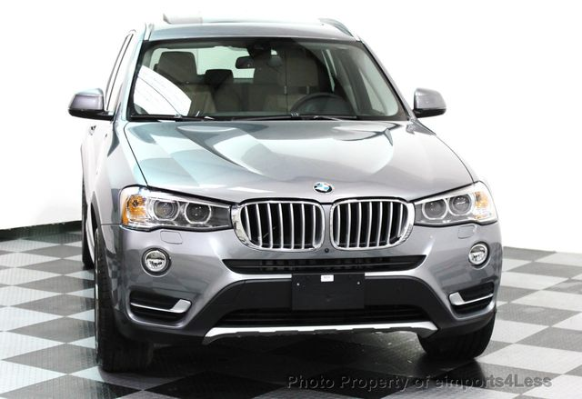 2017 BMW X3 CERTIFIED X3 xDRIVE28i XLINE AWD DRIVER ASSIST NAVI - 16176303 - 26