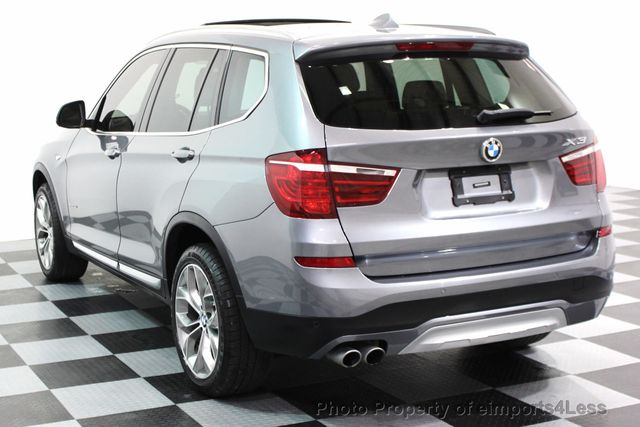 2017 BMW X3 CERTIFIED X3 xDRIVE28i XLINE AWD DRIVER ASSIST NAVI - 16176303 - 29
