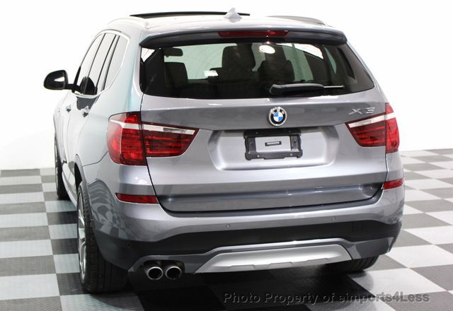 2017 BMW X3 CERTIFIED X3 xDRIVE28i XLINE AWD DRIVER ASSIST NAVI - 16176303 - 30
