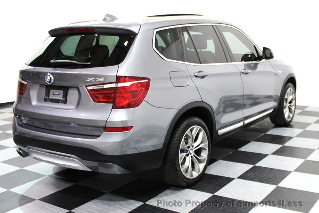 2017 BMW X3 CERTIFIED X3 xDRIVE28i XLINE AWD DRIVER ASSIST NAVI - 16176303 - 32