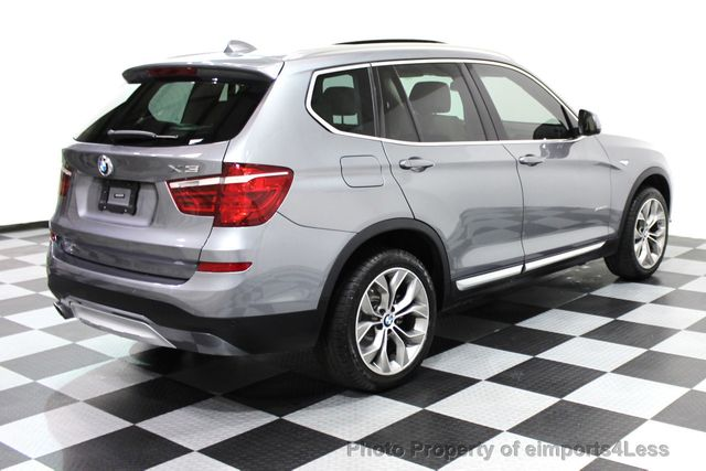 2017 BMW X3 CERTIFIED X3 xDRIVE28i XLINE AWD DRIVER ASSIST NAVI - 16176303 - 33