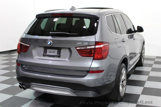 2017 BMW X3 CERTIFIED X3 xDRIVE28i XLINE AWD DRIVER ASSIST NAVI - 16176303 - 3