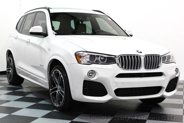 2017 Used Bmw X3 Certified X3 Xdrive35i M Sport Awd Camera