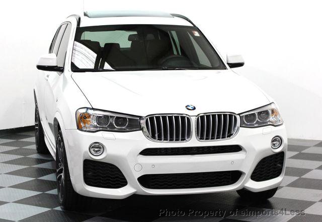 2017 BMW X3 CERTIFIED XDRIVE35i M SPORT AWD CAMERA TECH NAV