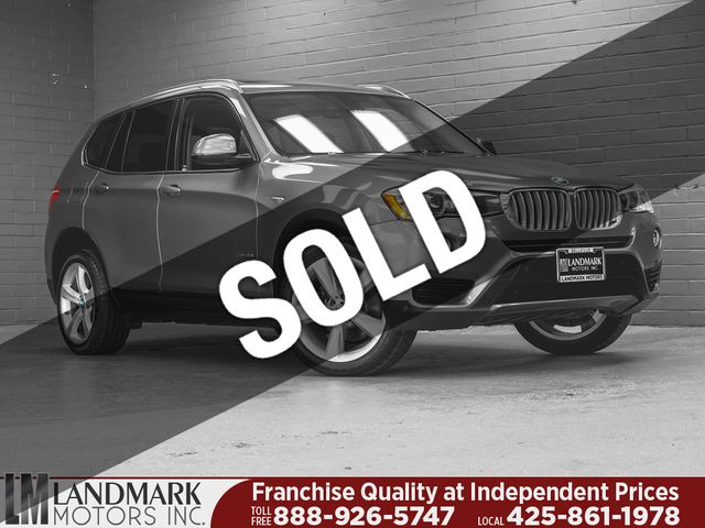 2017 Used Bmw X3 Xdrive28i At Landmark Motors Inc Serving Seattle Bellevue Wa Iid 19345421