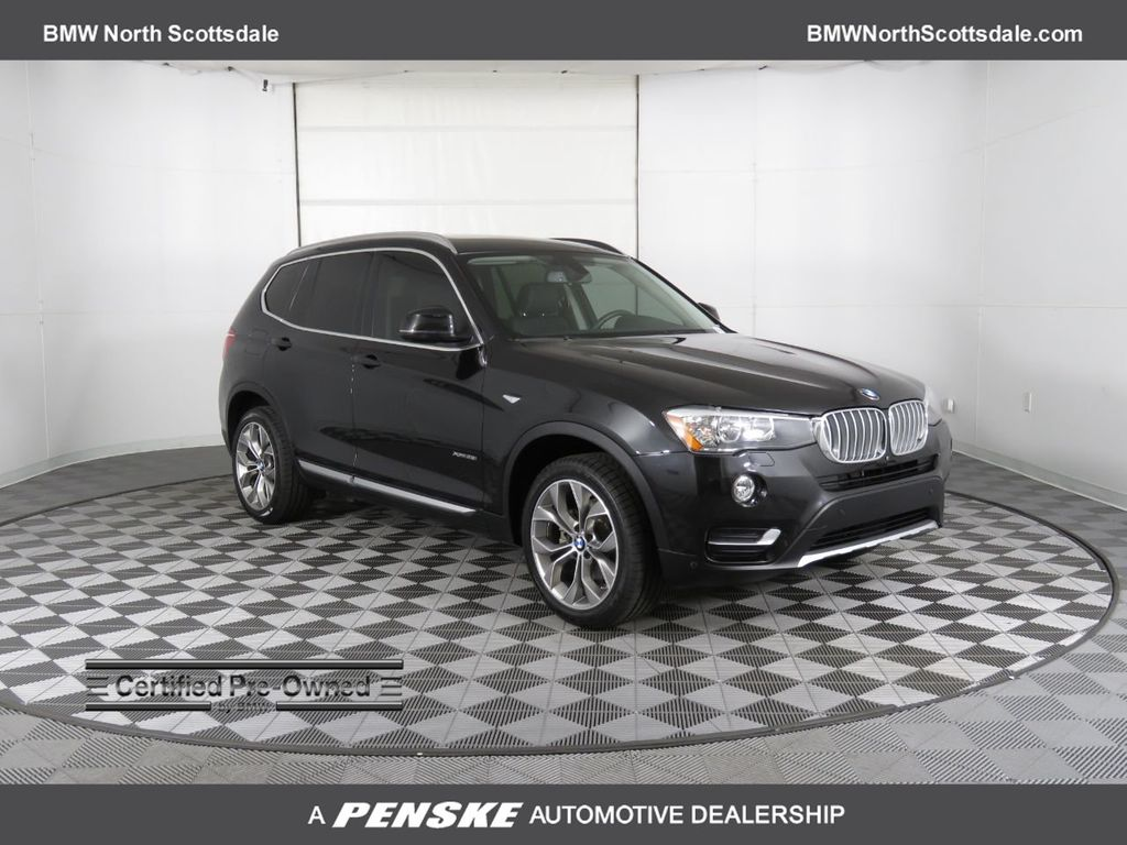2017 Used Bmw X3 Xdrive28i At Scottsdale Ferrari Serving Phoenix Az Iid 19395001