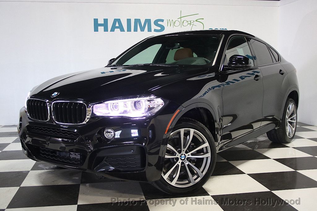 2017 Used Bmw X6 Xdrive35i At Haims Motors Serving Fort Lauderdale