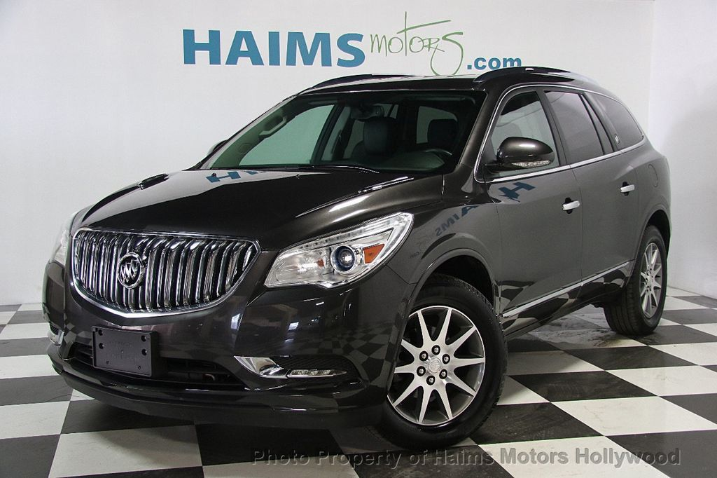 2017 Used Buick Enclave Awd 4dr Leather At Haims Motors Hollywood Serving Fort Lauderdale