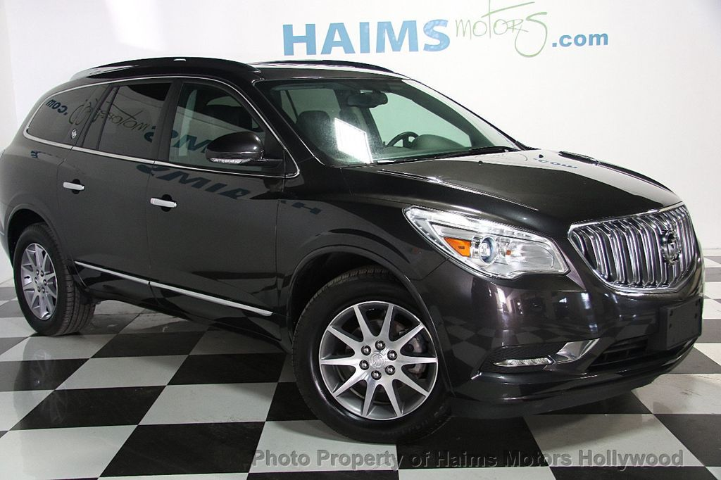 2017 Used Buick Enclave Awd 4dr Leather At Haims Motors Serving Fort