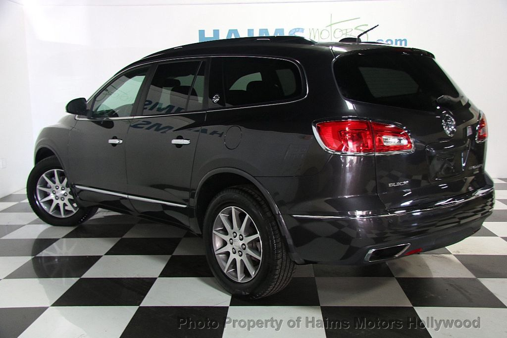 2017 Used Buick Enclave Awd 4dr Leather At Haims Motors Serving Fort Lauderdale Hollywood