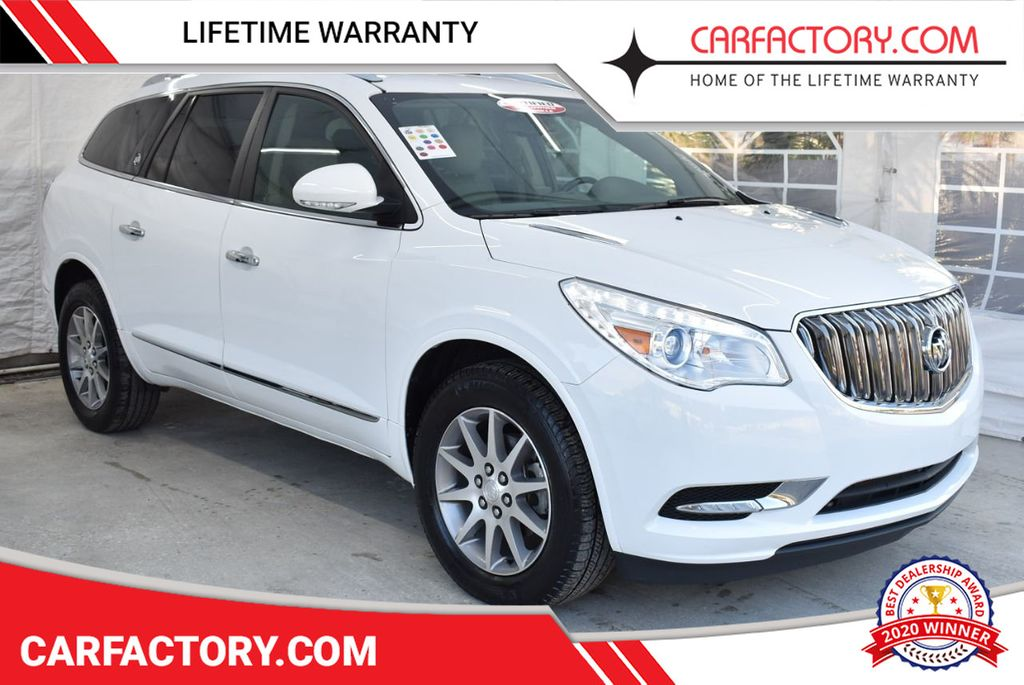 2017 Buick Enclave FWD 4dr Leather - 18546495 - 0