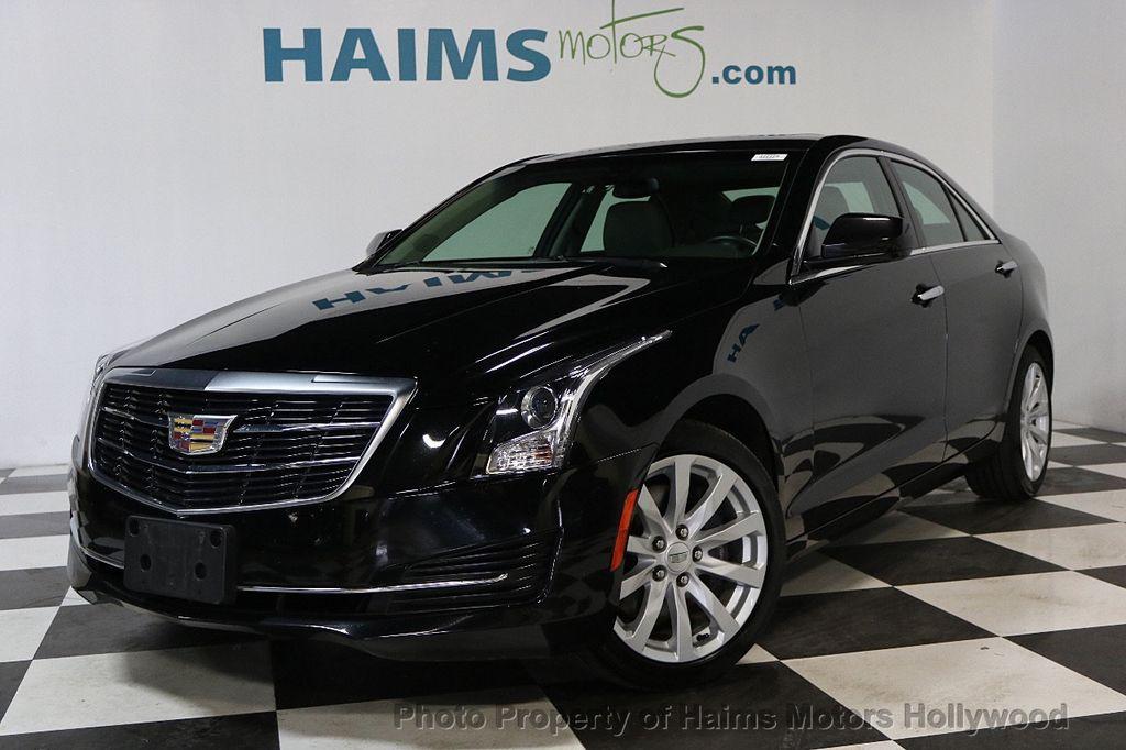 2017 Used Cadillac ATS Sedan 4dr Sedan 2.0L AWD At Haims