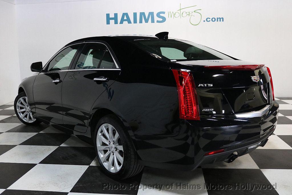 2017 Cadillac ATS Sedan 4dr Sedan 2.0L AWD - 17724894 - 4