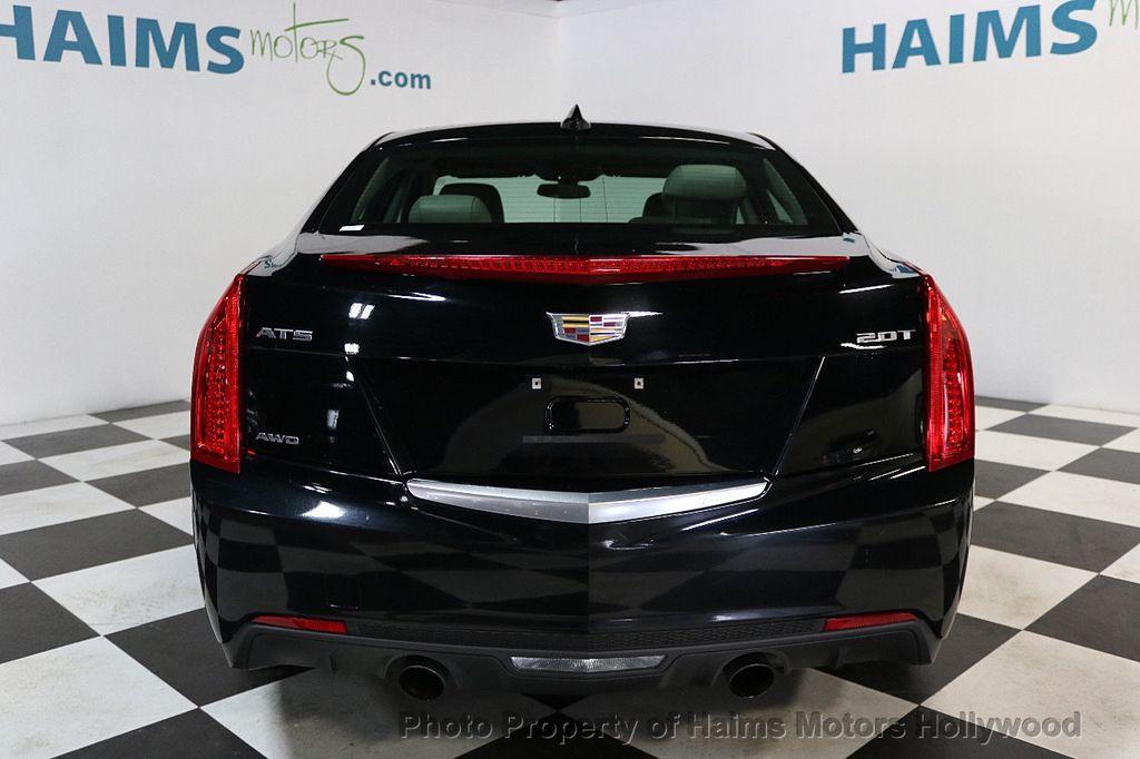 2017 Cadillac ATS Sedan 4dr Sedan 2.0L AWD - 17724894 - 5