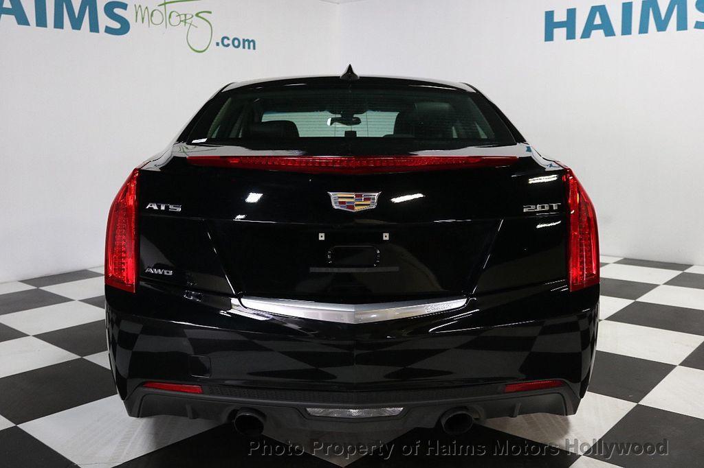 2017 Cadillac ATS Sedan 4dr Sedan 2.0L AWD - 17760199 - 5