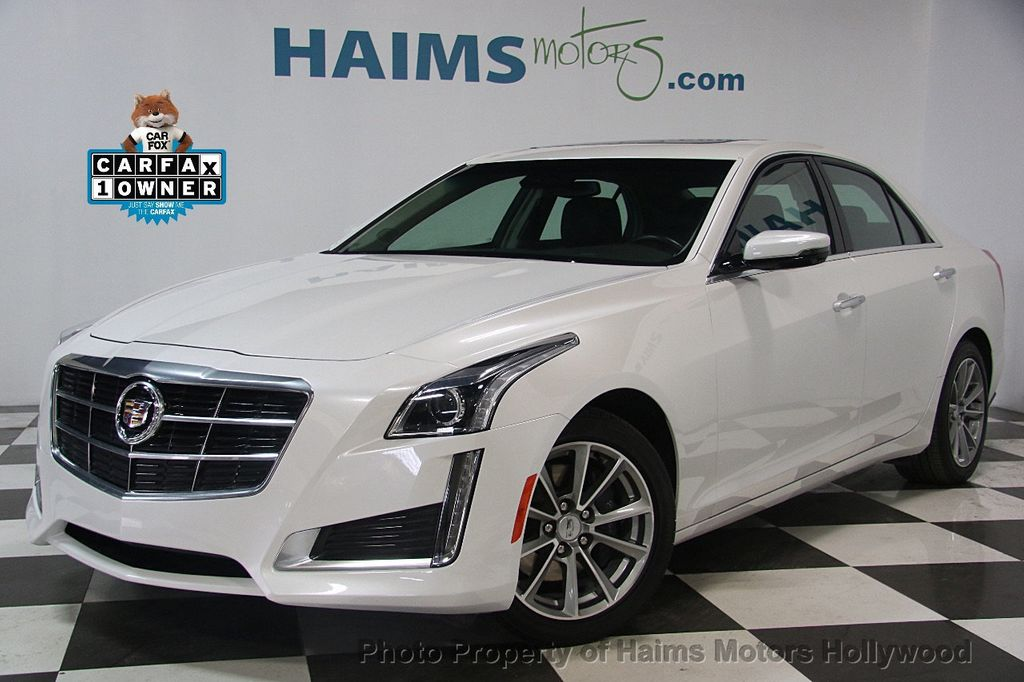 2017 Cadillac CTS Sedan 4dr Sedan 3.6L Luxury RWD - 17207064