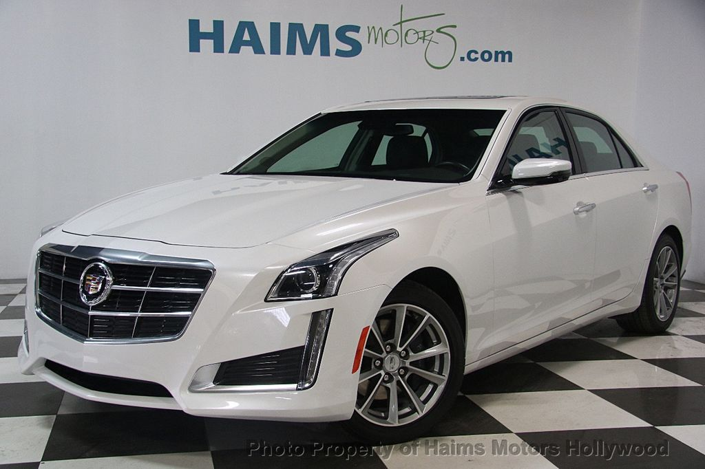 2017 Cadillac CTS Sedan 4dr Sedan 3.6L Luxury RWD - 17207064 - 1