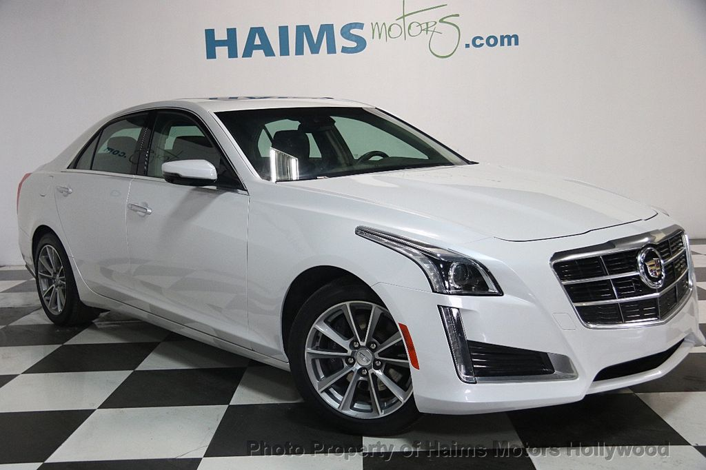2017 Cadillac CTS Sedan 4dr Sedan 3.6L Luxury RWD - 17207064 - 3
