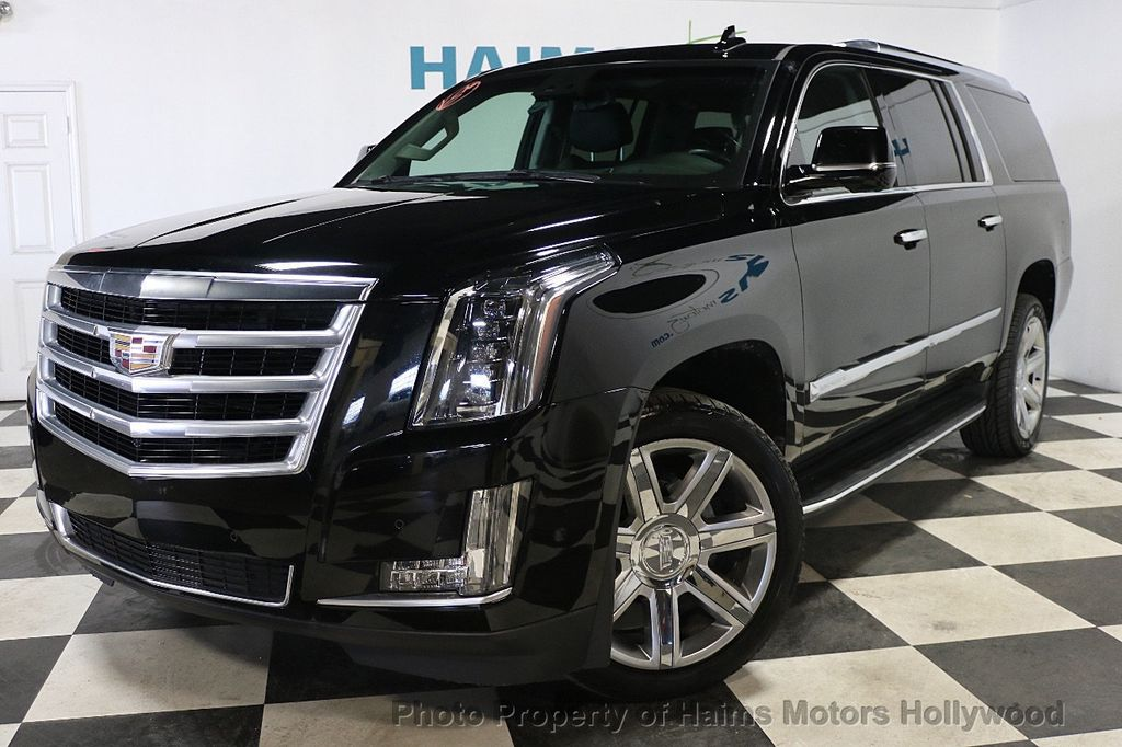 2017 Cadillac Escalade Esv Platinum >> 2017 Used Cadillac Escalade ESV 2WD 4dr Luxury at Haims Motors Serving Fort Lauderdale ...
