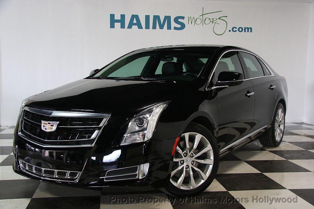 2017 Used Cadillac Xts 4dr Sedan Luxury Fwd At Haims Motors Serving