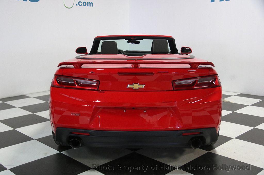 2017 Chevrolet Camaro 2dr Convertible LT w/1LT - 16981521 - 8