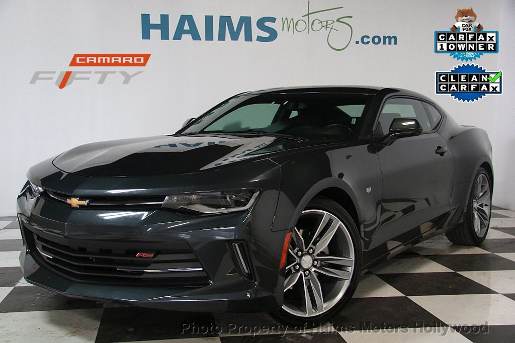 2017 Used Chevrolet Camaro 2dr Coupe LT w/1LT at Haims Motors ...