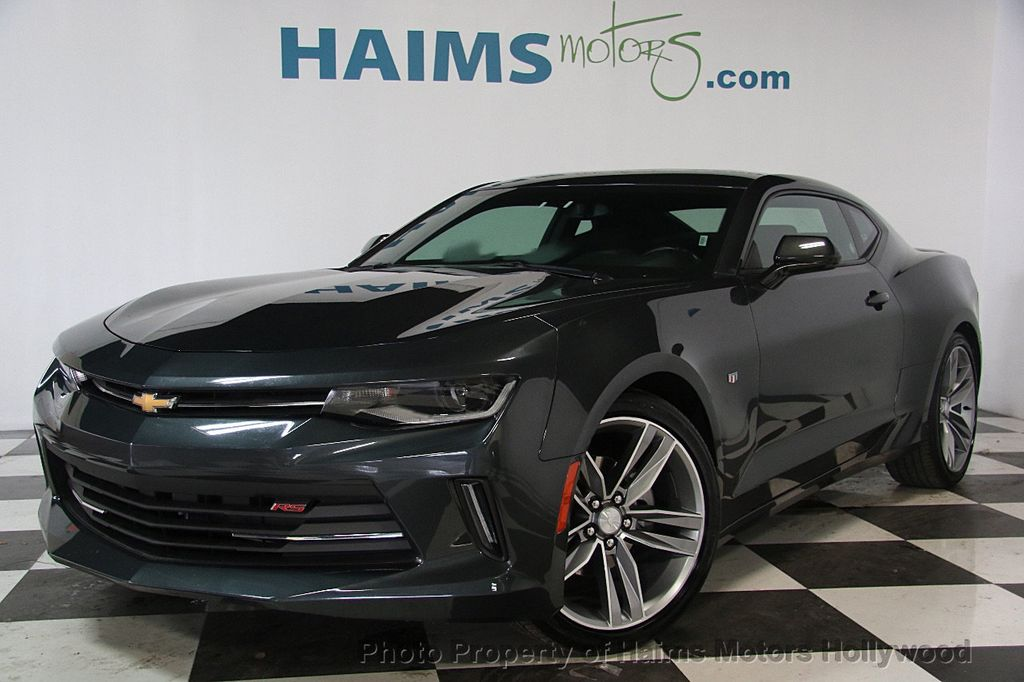 2017 used chevrolet camaro 2dr coupe lt w/1lt at haims motors