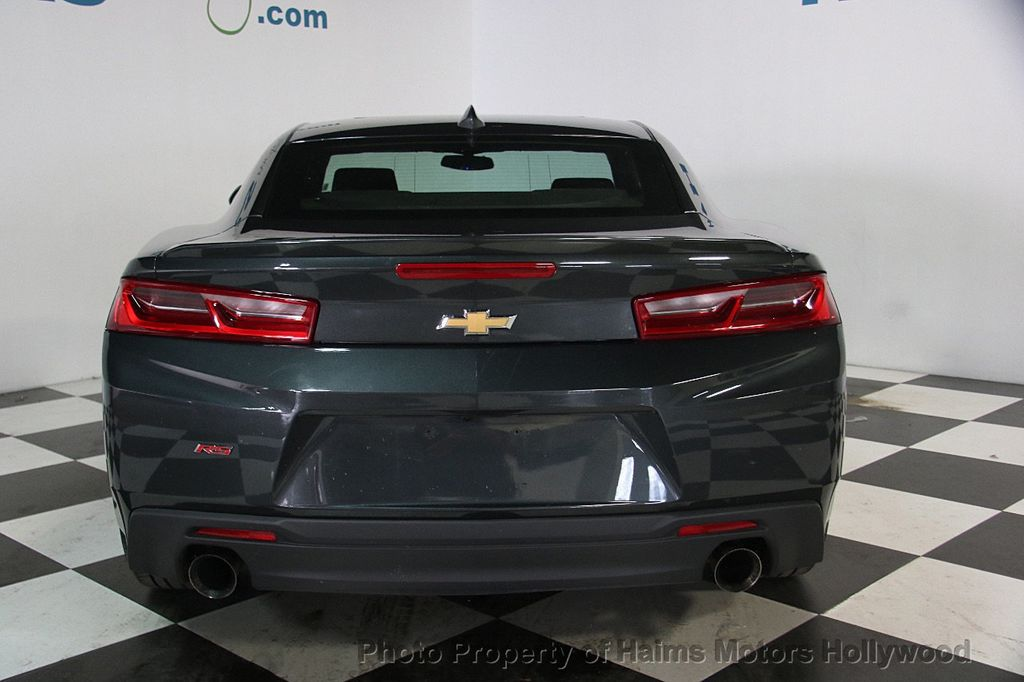 2017 used chevrolet camaro 2dr coupe lt w 1lt at haims motors serving fort lauderdale hollywood. Black Bedroom Furniture Sets. Home Design Ideas