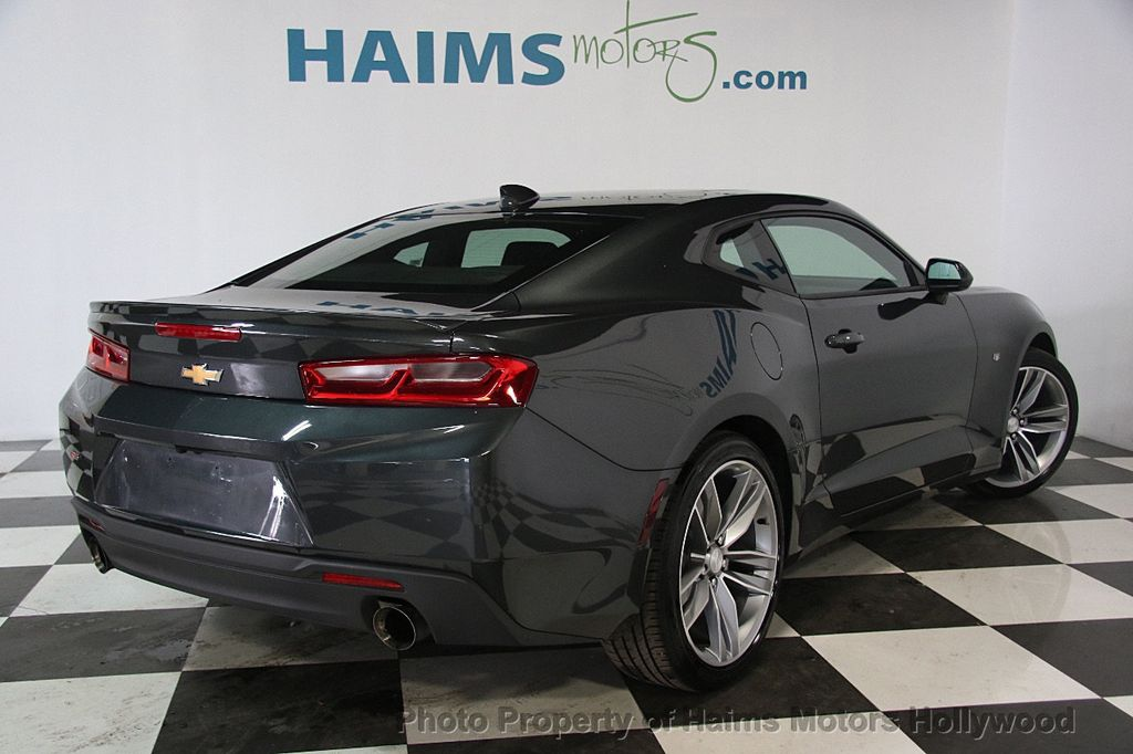 2017 used chevrolet camaro 2dr coupe lt w 1lt at haims motors ft lauderdale serving lauderdale. Black Bedroom Furniture Sets. Home Design Ideas
