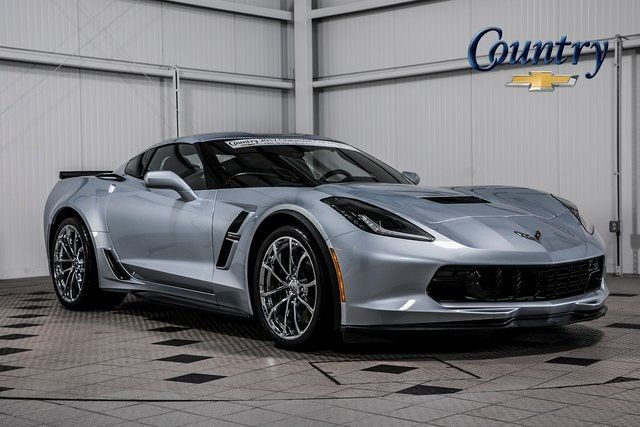 2017 Used Chevrolet Corvette 2dr Grand Sport Coupe W 2lt At Country Credit Center Serving Washington D C Arlington Va Iid 19403767